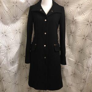 Zara Black Pea Coat